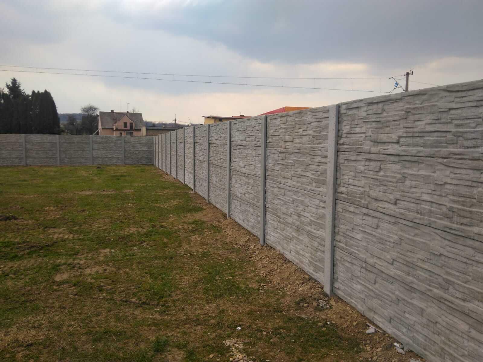 Ogrodzenia betonowe-2